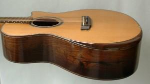 Camp Music - Custom Guitar Making - Camp Curve 7 String