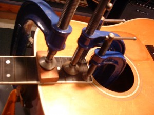 Camp Music - Fretted Instrument Repair and Restoration - Neck Reset
