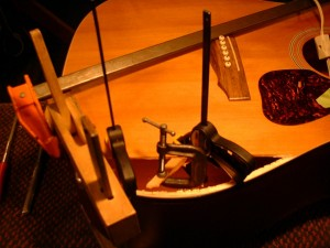 Camp Music - Fretted Instrument Repair and Restoration - Top Repair