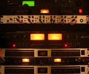 Camp Music - Recording Services - Equipment / Rack Gear